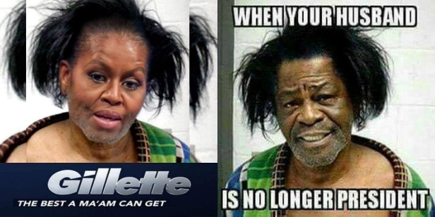 + Comparison Michelle Obama and James Brown2