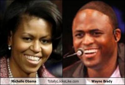 + Comparison Michelle Obama Wayne Brady