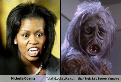 + Comparison Michelle Obama Wraith