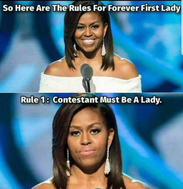Dude Looks Like a Lady Rules for Forever First Lady