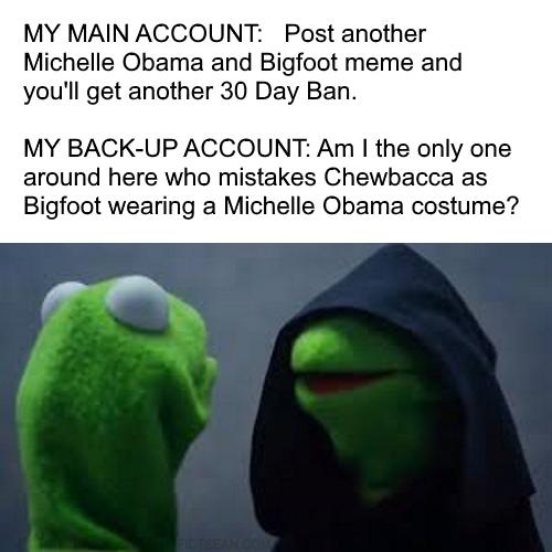 ! Kermit Hooded Shadow Alter Ego BACKUP ACCOUNT
