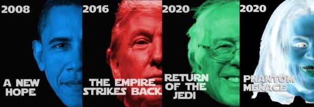 ! Michelle Obama 2020 Phantom Menace 4 Up
