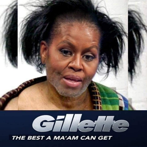 MO as James Brown Michelle Obama 2SQ
