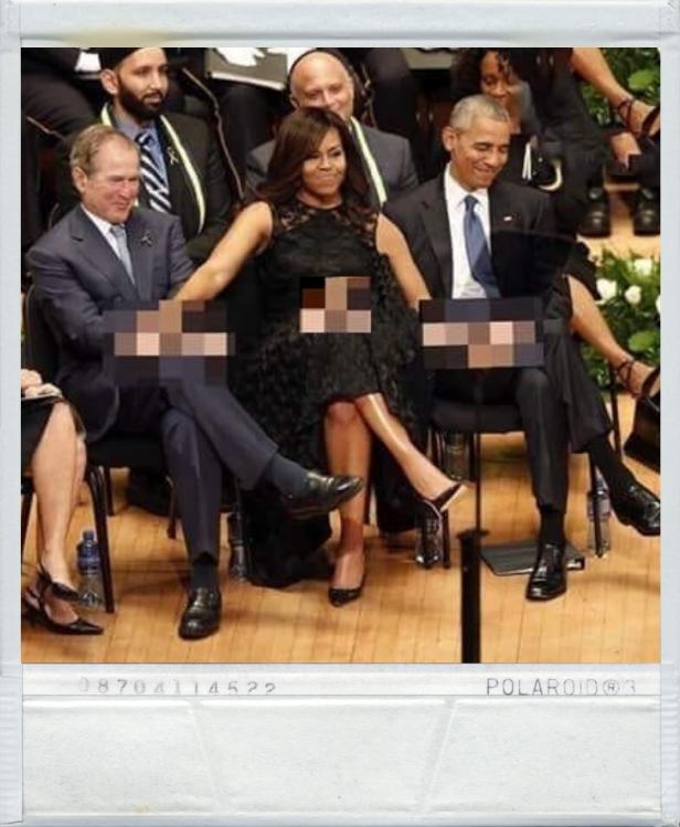 ! Poloroid Polaroid Picture Frame Michelle Obama